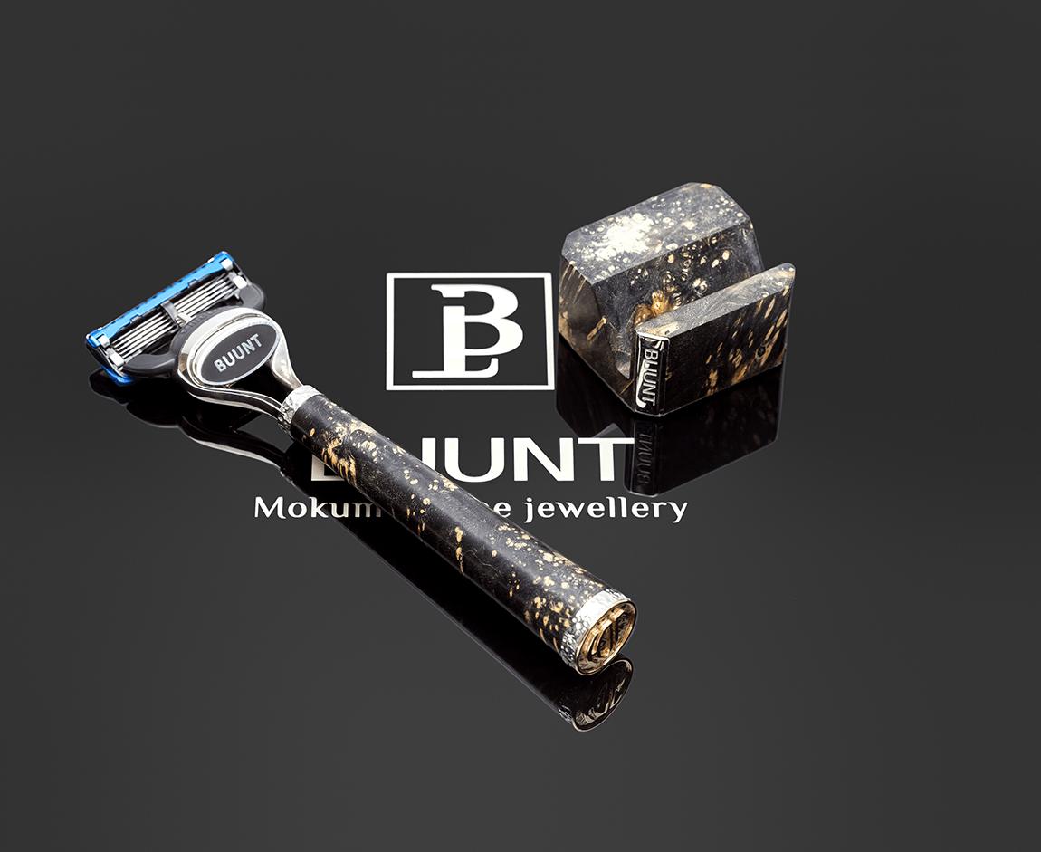 ювелирная бритва, дорогой подарок мужчине, лакшери бритва, эксклюзивный подарок мужчине